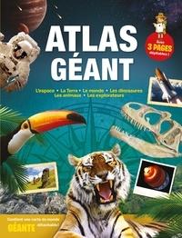 Yoyo éditions - Atlas géant - L'espace ; La Terre ; Le monde ; Les dinosaures ; Les animaux ; Les explorateurs.