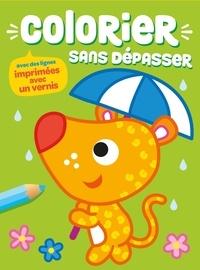 Yoyo éditions - Colorier sans dépasser (chien).