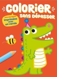 Yoyo éditions - Colorier sans dépasser (crocodile).