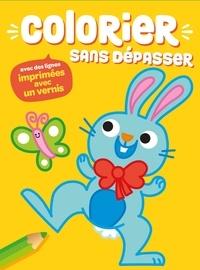 Yoyo éditions - Colorier sans dépasser (lapin).