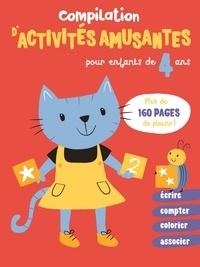 Yoyo éditions - Compilation d'activités amusantes pour enfants de 4 ans.