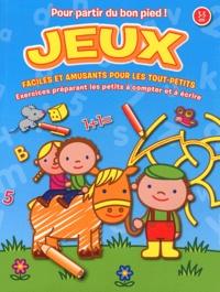 Yoyo éditions - Jeux faciles et amusants pour les Tout-petits - Exercices préparant les petits à compter et à écrire 3-5 ans.