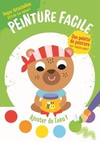 Accentsonline.fr Peinture facile l'ours - Avec une palette de peinture sur chaque page et 1 pinceau Image