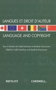 Ysolde Gendreau - Langues et droit d'auteur.