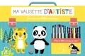 Yu-Hsuan Huang - Je crée mes bébés animaux - Avec 4 feutres, 1 tampon, 1 encreur et 4 crayons de couleur.