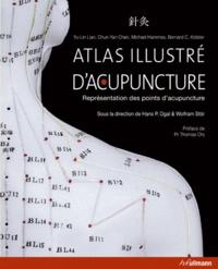 Yu-Lin Lian - Atlas illustré d'acupuncture - Représentation des points d'acupuncture.