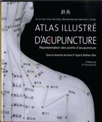 Yu-Lin Lian et Chun-Yan Chen - Atlas illustré d'acupuncture - Représentation des points d'acupuncture.
