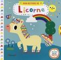 Yujin Shin - Mon histoire de licorne - Un livre avec des tirettes.