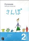 Yuka Kawakami et Yuka Kito - Promenade - Méthode de japonais Volume 2, niveau A1-A2 avec Cahier d'exercices et corrigés, 2 volumes.