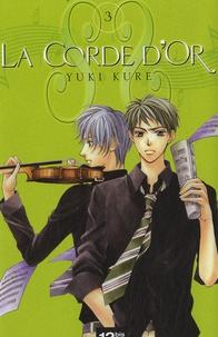 Yuki Kure - La corde d'or Tome 3 : .