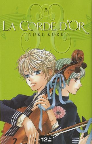 Yuki Kure - La corde d'or Tome 5 : .
