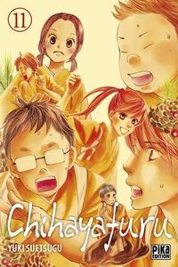 Yuki Suetsugu - Chihayafuru Tome 11 :  - Avec 8 cartes à jouer.