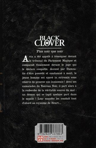 Black Clover Tome 23 Plus noir que noir