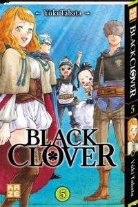 Yûki Tabata - Black Clover Tome 5 : Lumière.