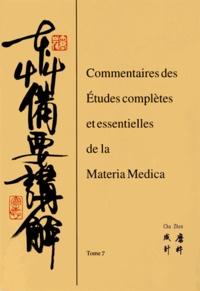 Coachingcorona.ch Commentaires des études complètes et essentielles de la Materia medica - Tome 7 Image