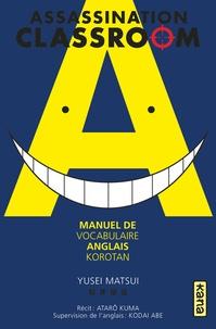 Assassination Classroom - Manuel de vocabulaire Anglais Korotan.pdf