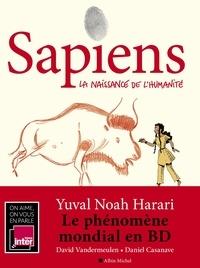 Yuval Noah Harari - Sapiens - tome 1 (BD) - La naissance de l'humanité.