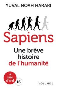 Ebook gratuit en ligne Sapiens  - Une brève histoire de l'humanité, 2 volumes