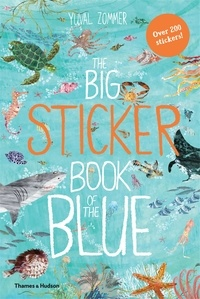 Yuval Zommer - The Big Sticker Book of the Blue.