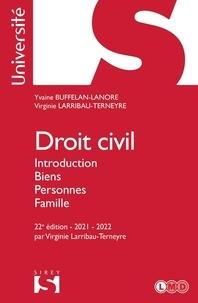 Yvaine Buffelan-Lanore et Virginie Larribau-Terneyre - Droit civil - Introduction biens, personnes, famille.