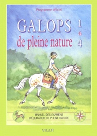 Yvan Benoist-Gironière - Galops de pleine nature 1 à 4 - Programme officiel.