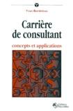 Yvan Bordeleau - Carrière de consultant - Concepts et applications.