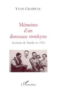 Feriasdhiver.fr MEMOIRES D'UN DINOSAURE TROTSKYSTE. Secrétaire de Trotsky en 1933 Image