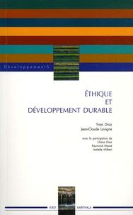 Yvan Droz et Jean-Claude Lavigne - Ethique et développement durable.