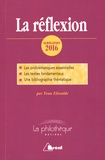 Yvan Elissalde - La réflexion - Dissertation.