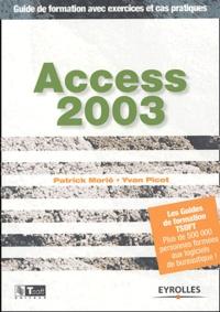 Access 2003- Guide de formation avec exercices et cas pratiques - Yvan Picot | Showmesound.org