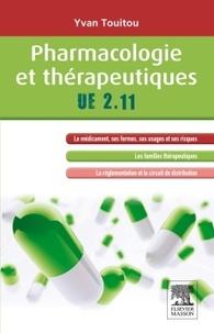 Yvan Touitou - Pharmacologie et thérapeutiques, UE 2.11.