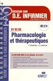 Yvan Touitou et Catherine Leroux - Pharmacologie et thérapeutiques UE 2.11.