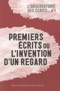 Yvanne Chenouf - Premiers écrits ou l'invention d'un regard.