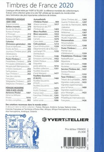 Catalogue de timbres-poste. Tome 1, France  Edition 2020