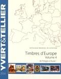Yvert & Tellier - Catalogue de timbres-postes d'Europe - Volume 4, Pologne à Russie.