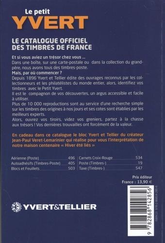 Le Petit Yvert. Tous les timbres-poste de France depuis 1849  Edition 2019