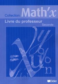 Yves Alvez - Math'x 2e - Livre du professeur.