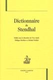 Yves Ansel et Philippe Berthier - Dictionnaire de Stendhal.