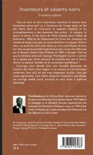 Inventeurs et savants noirs 3e édition