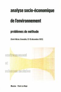 Analyse socio-économique de lenvironnement - Problèmes de méthode.pdf