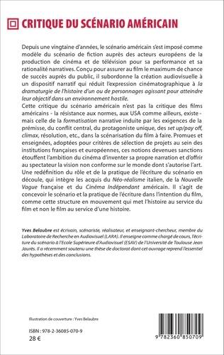 Critique du scénario américain suivi de Pour un scénario filmique