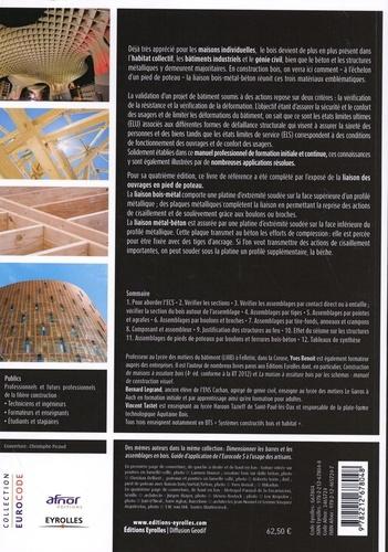 Calcul des structures en bois. Guide d'application des Eurocodes 5 (structures bois) et 8 (séismes) 4e édition
