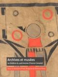 Yves Bergeron et Vanessa Ferey - Archives et musées - Le théâtre du patrimoine (France-Canada).