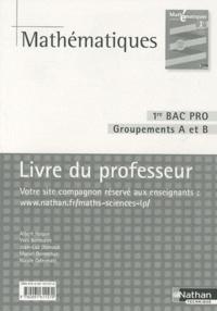 Mathématiques 1e Bac pro Groupements A et B - Livre du professeur, programme 2010.pdf