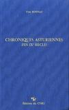 Yves Bonnaz - Chroniques asturiennes (fin IXe siècle).