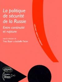 Yves Boyer et Isabelle Facon - .