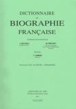 Yves Chiron - Dictionnaire de biographie française - Tome 20 Fascicule 120, Le Jeune - Lemarinel.