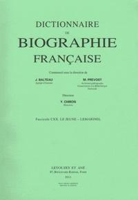 Goodtastepolice.fr Dictionnaire de biographie française - Tome 20 Fascicule 120, Le Jeune - Lemarinel Image