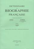 Yves Chiron - Dictionnaire de biographie française - Tome 21 Fascicule 126, Lescallier - Lespinasse de Bournazel.