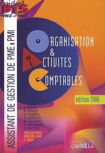 Yves Colin et Bernard Epailly - Organisation et Activités Comptables - pôle 2.